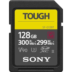 Karta pamięci Sony SDXC 128GB SF-G TOUGH