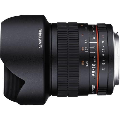 Obiektyw Samyang 10 mm f/2.8 Canon