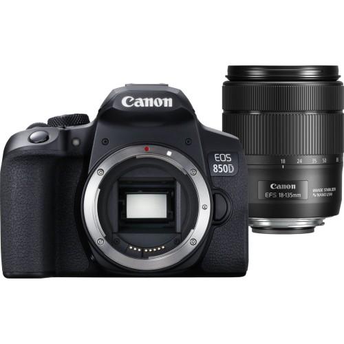 Lustrzanka Canon EOS 850D + obiektyw EF-S 18-135mm f/3.5-5.6 IS USM