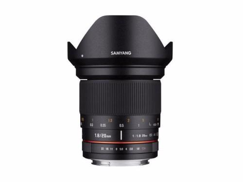Obiektyw Samyang 20mm F/1.8 obiektyw manualny - Sony E