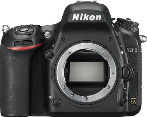 Lustrzanka Nikon D750 Czarny Body