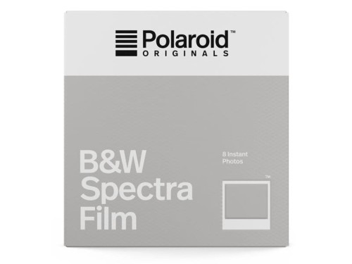 Materiały natychmiastowe POLAROID ORIGINALS B&W FILM FOR SPECTRA