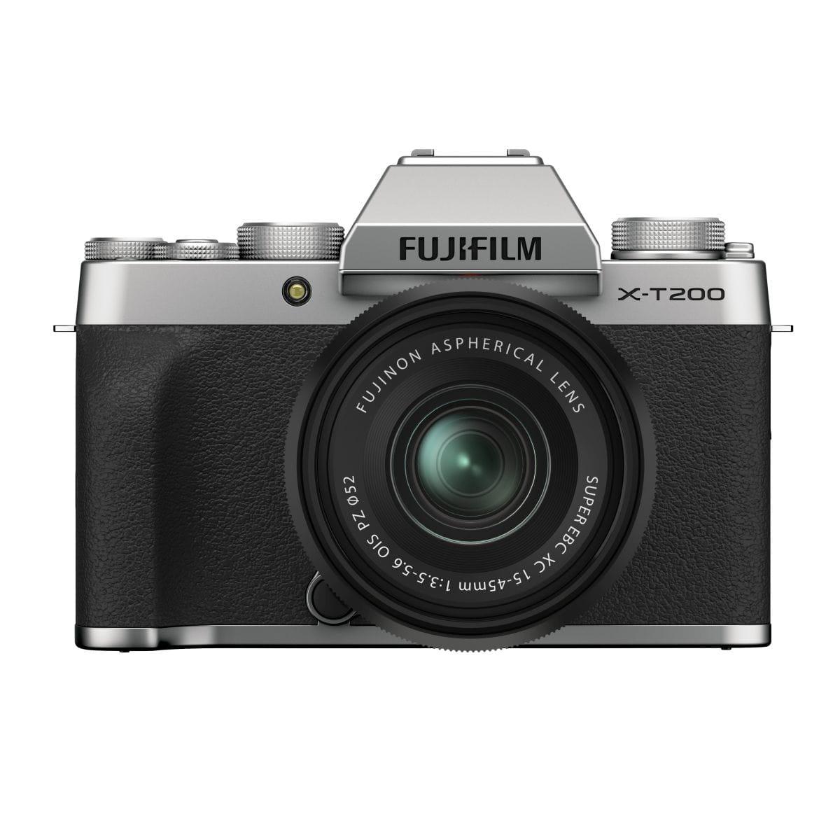 Aparat Fujifilm X-T200 srebrny + obiektyw 15-45MM