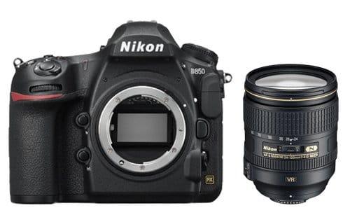 Nikon D850 + 24-120mm 4G ED VR