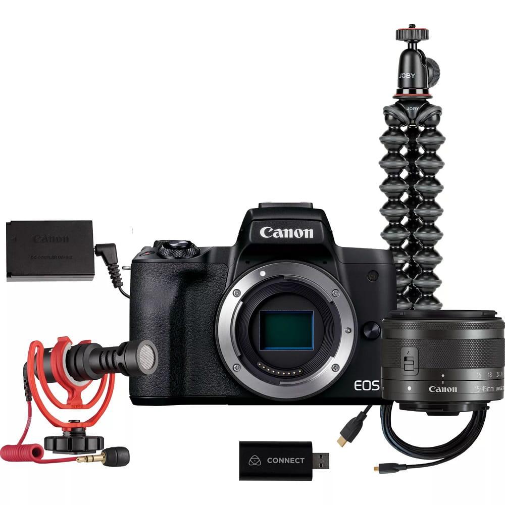 Aparat Canon M50 Mark II Streaming kit