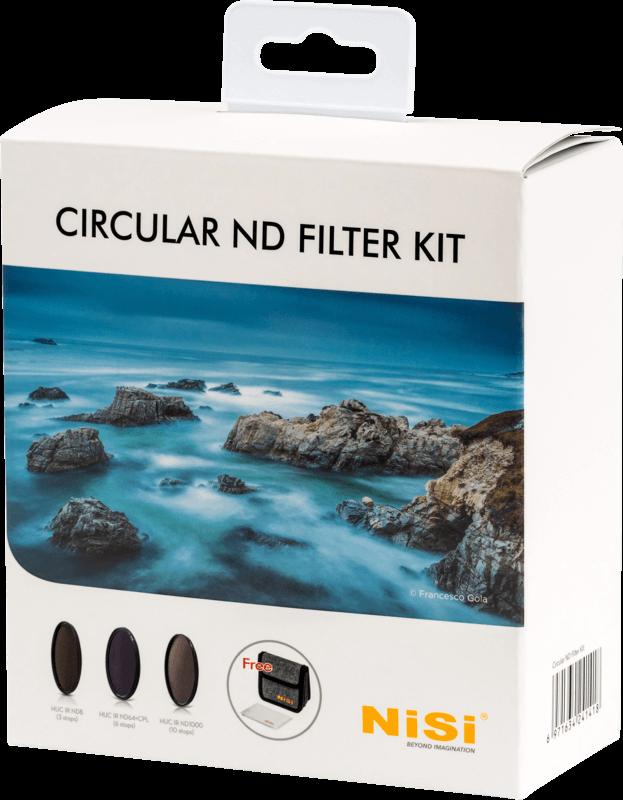 Zestaw filtrów NiSi Circular ND Kit 77mm