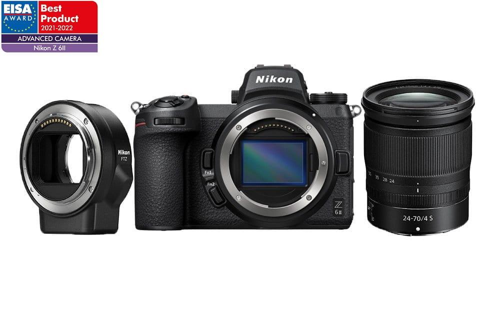 Aparat Nikon Z6 II + 24-70 f/4 + FTZ - | (w magazynie)