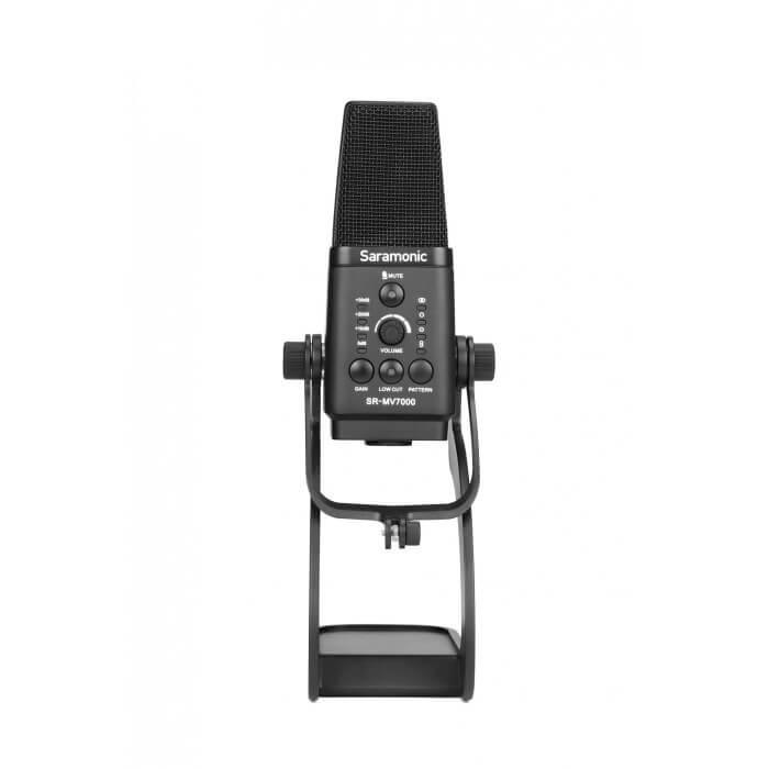 Mikrofon pojemnościowy Saramonic SR-MV7000 ze złączem USB / XLR do podcastów