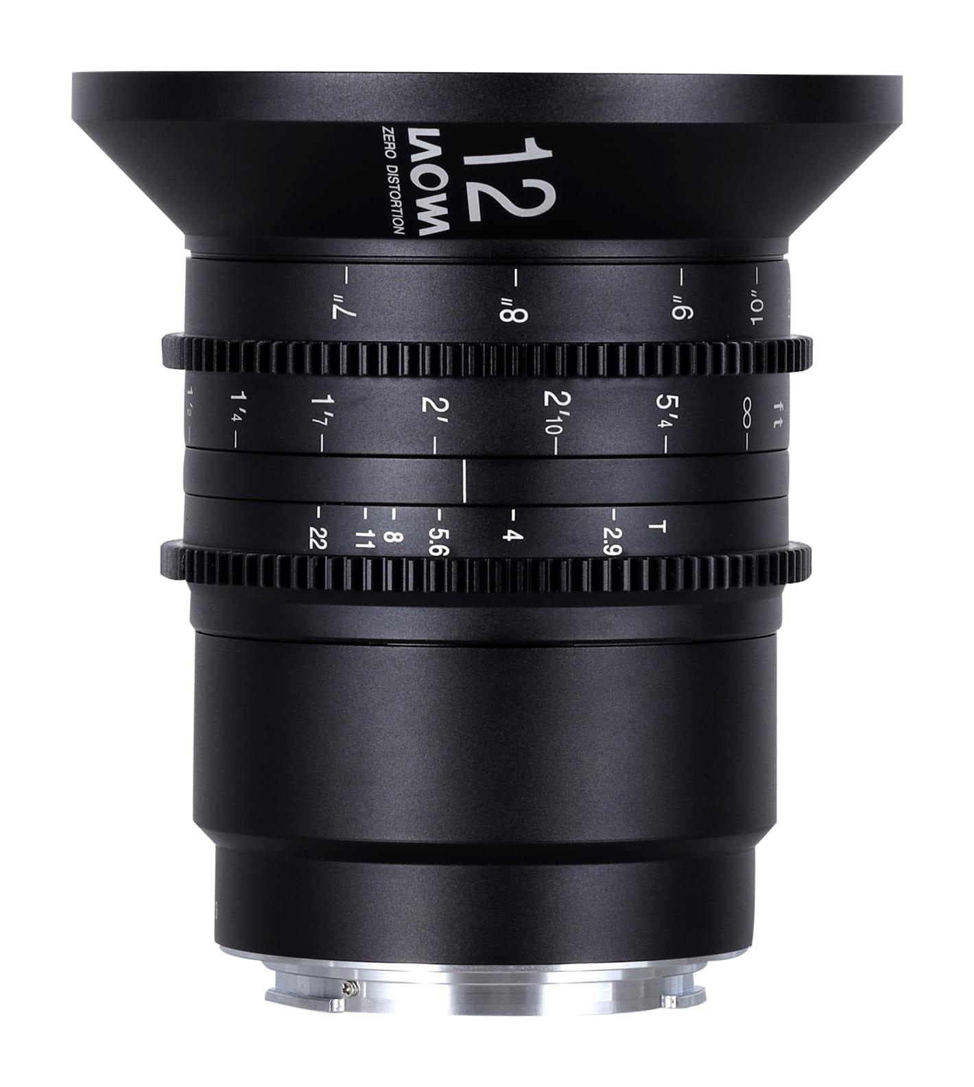 Obiektyw Venus Optics Laowa 12 mm T2,9 Zero-D Cine do Canon RF