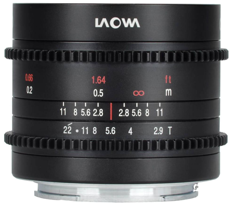 Obiektyw Venus Optics Laowa 9 mm T2,9 Zero-D Cine do Canon RF