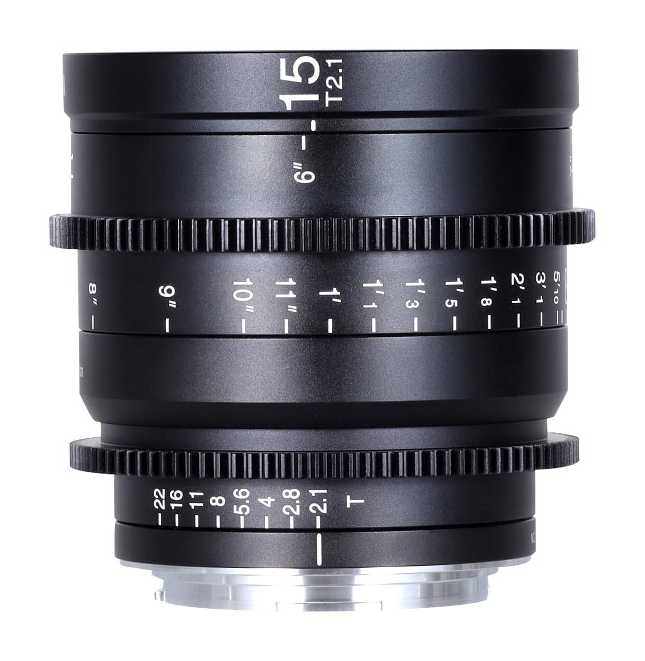 Obiektyw Venus Optics Laowa 15 mm T2,1 Zero-D Cine do Canon RF