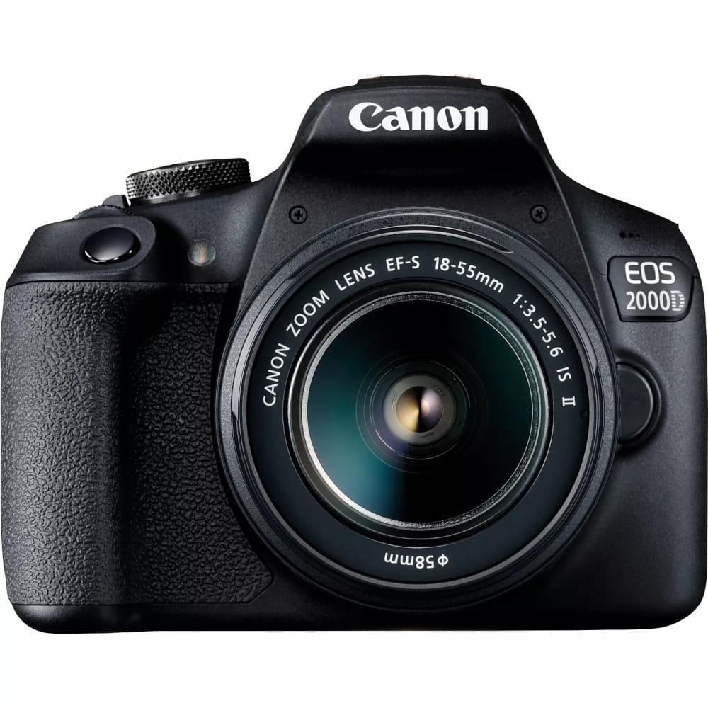Lustrzanka Canon EOS 2000D + EF-S 18-55mm f/3.5-5.6 IS II