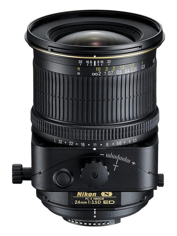 Obiektyw Nikon Nikkor PC-E 24mm f3.5D