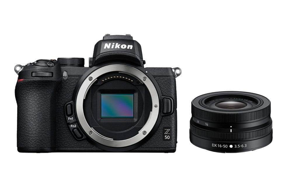Aparat cyfrowy bezlusterkowiec Nikon Z50 + 16-50mm VR