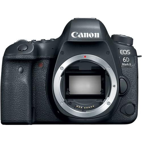 Lustrzanka Canon EOS 6D mark II - body + Cashback Canon Lens Promo z wybranym obiektywem Canon!