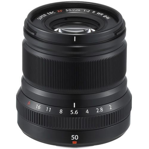 Obiektyw Fujifilm Fujinon XF 50 mm f/2 R WR czarny