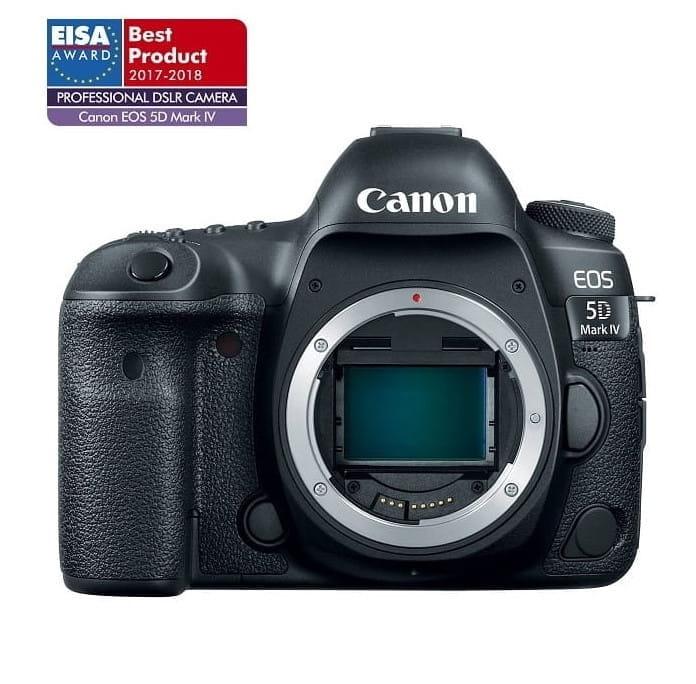 Lustrzanka Canon EOS 5D Mark IV - body + Cashback Canon Lens Promo z wybranym obiektywem Canon!
