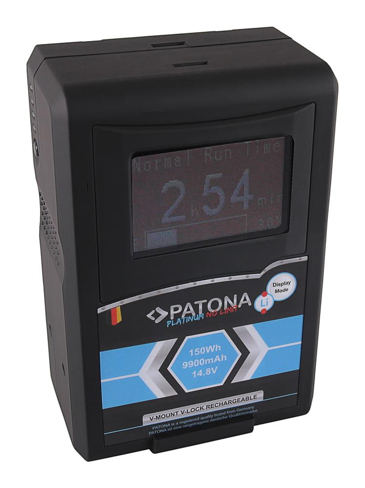 Akumulator Patona Platinum LCD RED ARRI V-Mount, 9900mAh, 150Wh, 14.8V, D-Tap
