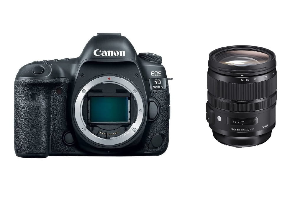 Lustrzanka Canon EOS 5D Mark IV + Sigma 24-70 mm f/2.8 A DG OS HSM