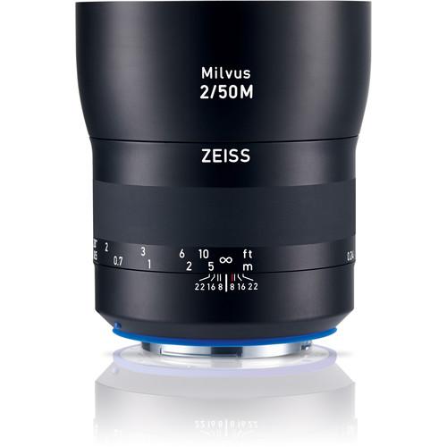 Obiektyw Carl Zeiss Milvus 50mm f/2 Makro ZE Canon