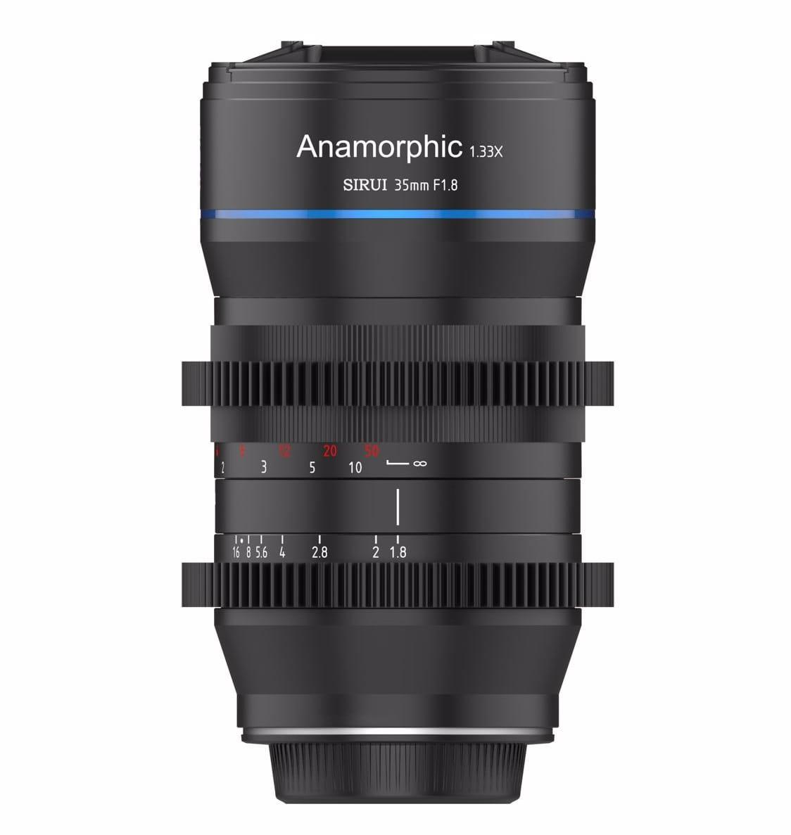 Obiektyw anamorficzny Sirui 35mm F1.8 1.33X MFT