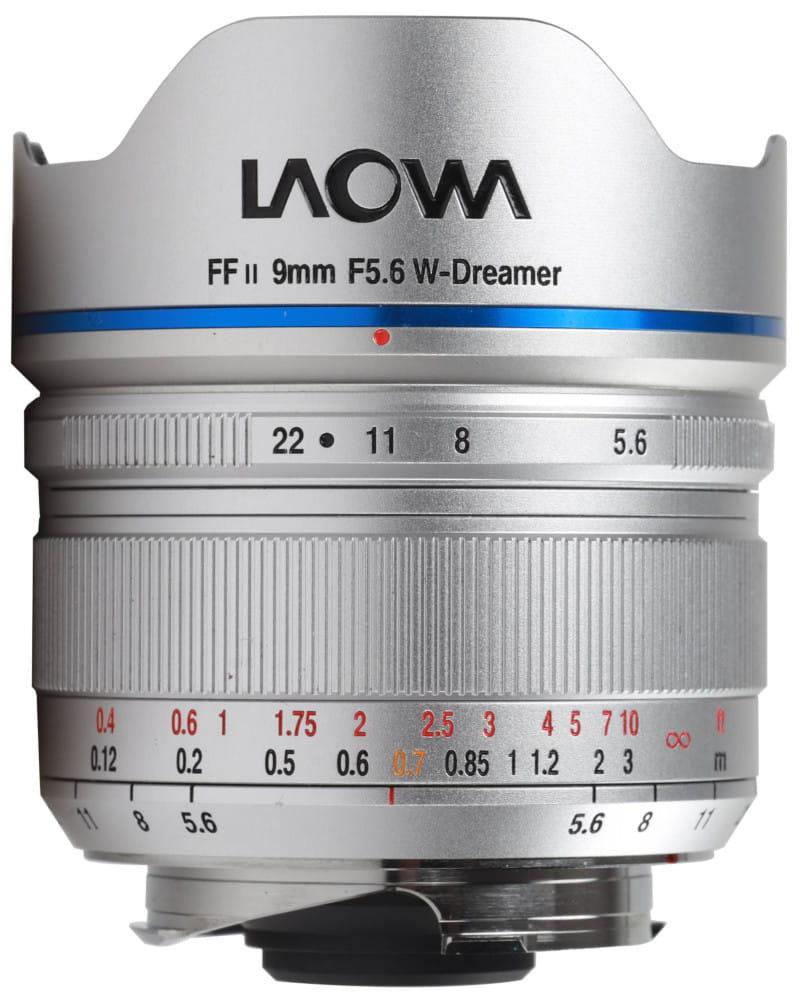 Obiektyw Venus Optics Laowa 9 mm f/5,6 FF RL do Leica M srebrny