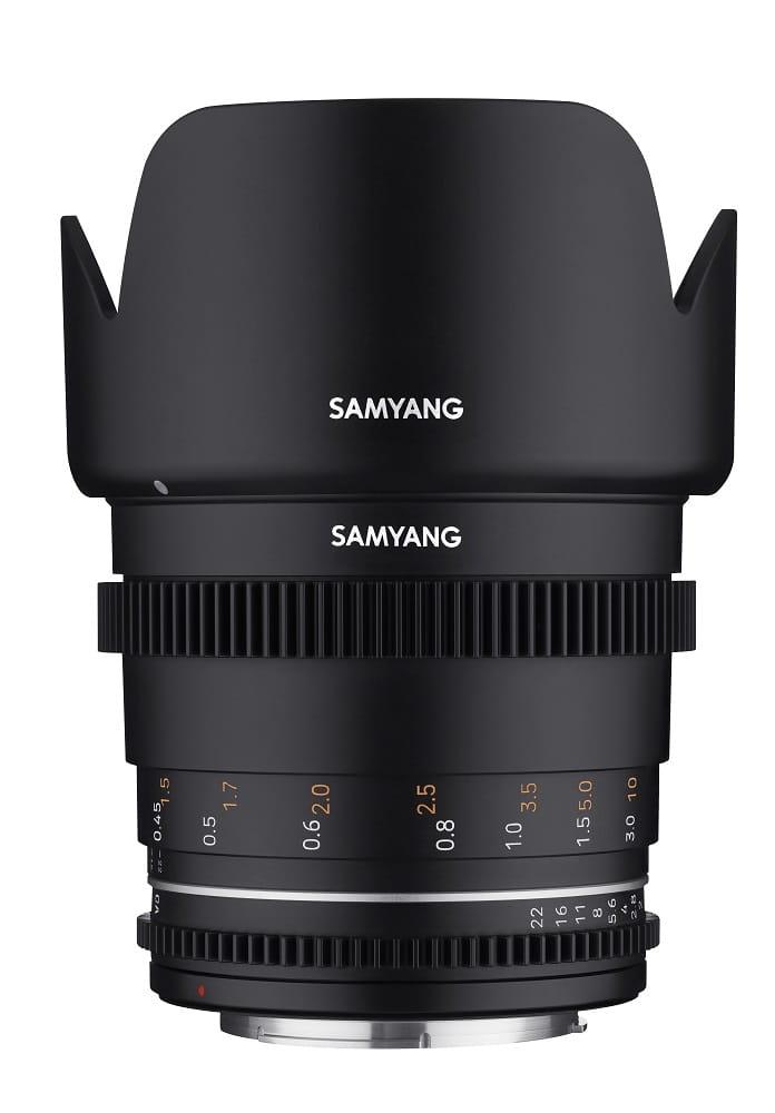 Obiektyw Samyang 50mm T1.5 VDSLR MK2 Canon M