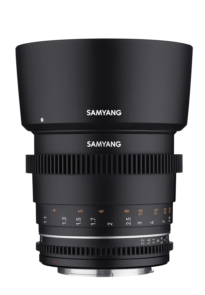 Obiektyw Samyang 85mm T1.5 VDSLR MK2 MFT