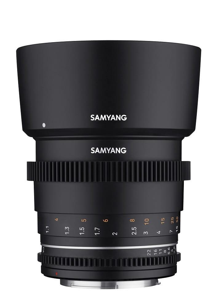 Obiektyw Samyang 85mm T1.5 VDSLR MK2 Canon EF
