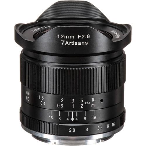Obiektyw 7Artisans 12mm F2.8 Fuji X