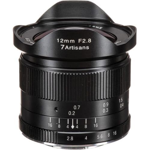 Obiektyw 7Artisans 12mm F2.8 MFT
