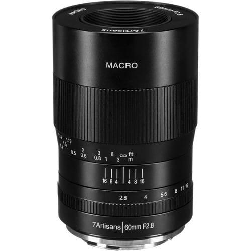 Obiektyw 7Artisans 60mm F2.8 Macro Canon M