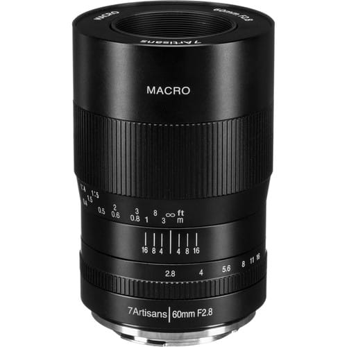 Obiektyw 7Artisans 60mm Macro F2.8 Fuji X