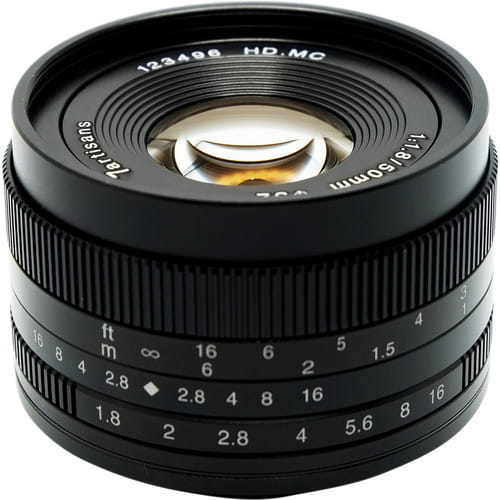 Obiektyw 7Artisans 50mm F1.8 Sony E