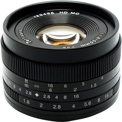 Obiektyw 7Artisans 50mm F1.8 MFT