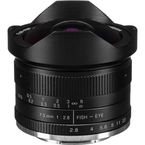 Obiektyw 7Artisans 7.5mm F2.8 Fisheye Fuji X