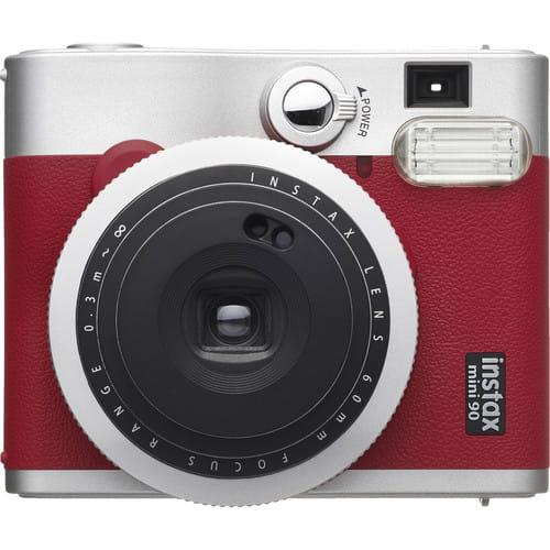 Aparat Fujifilm Instax Mini 90 Neo Classic czerwono-srebrny