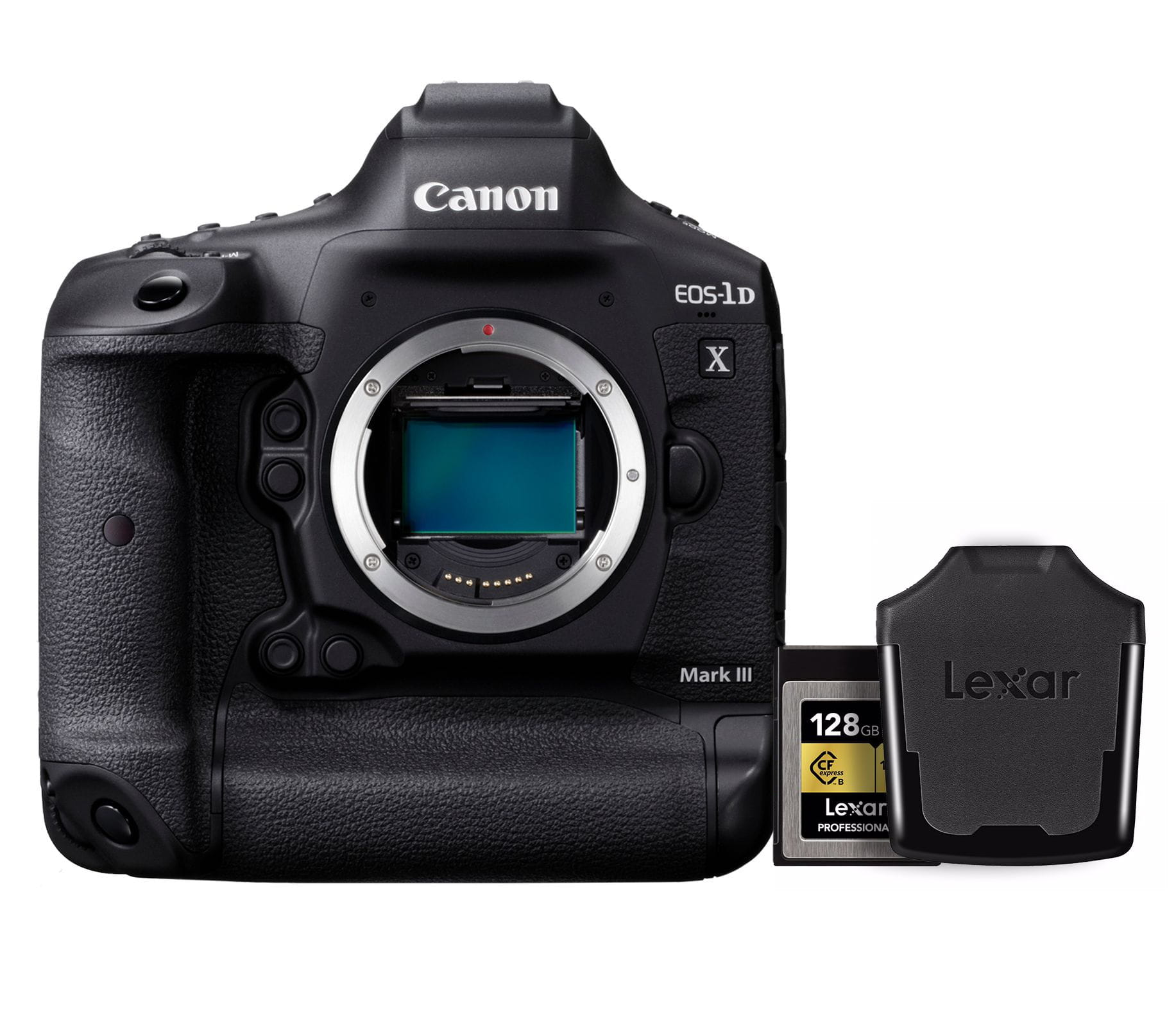 Lustrzanka Canon EOS 1DX Mark III + karta + czytnik