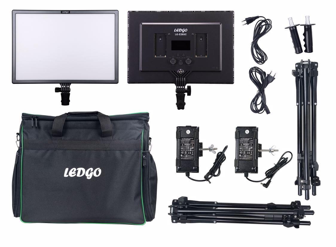 Zestaw lamp Ledgo LG-E268C 2 light kit