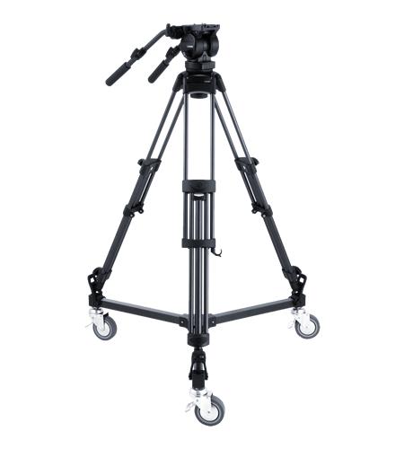 Zestaw statyw RT50B z głowicą i wózkiem Libec LX10 STUDIO