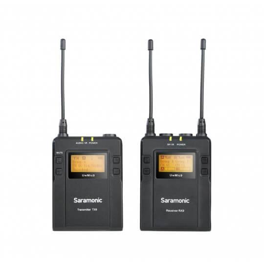Zestaw do bezprzewodowej transmisji dźwięku Saramonic UwMic9 Kit 1 (RX9 + TX9)