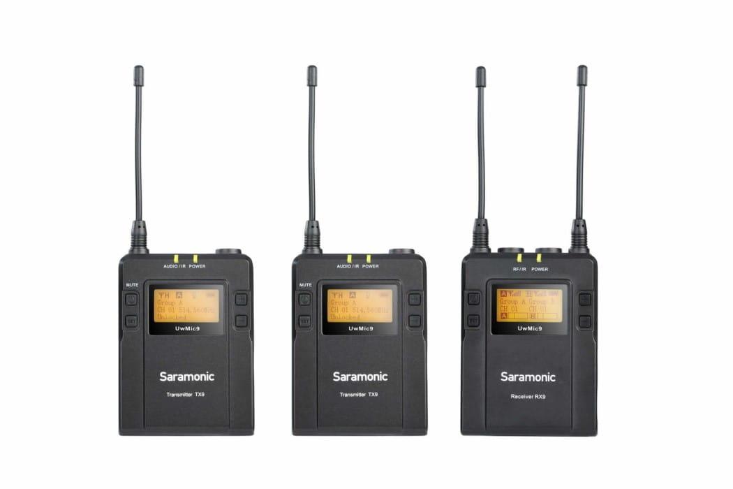 Zestaw do bezprzewodowej transmisji dźwięku Saramonic UwMic9 Kit 2 RX9 + TX9 + TX9