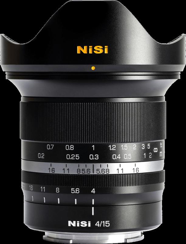 Obiektyw NiSi 15mm F4 Sony E-Mount