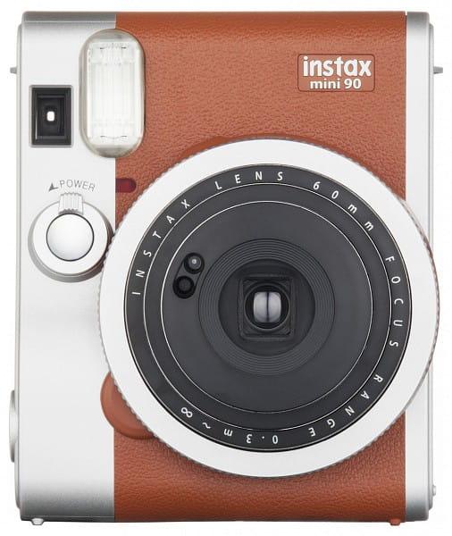 Aparat Fujifilm Instax Mini 90 Neo Classic brązowo-srebrny