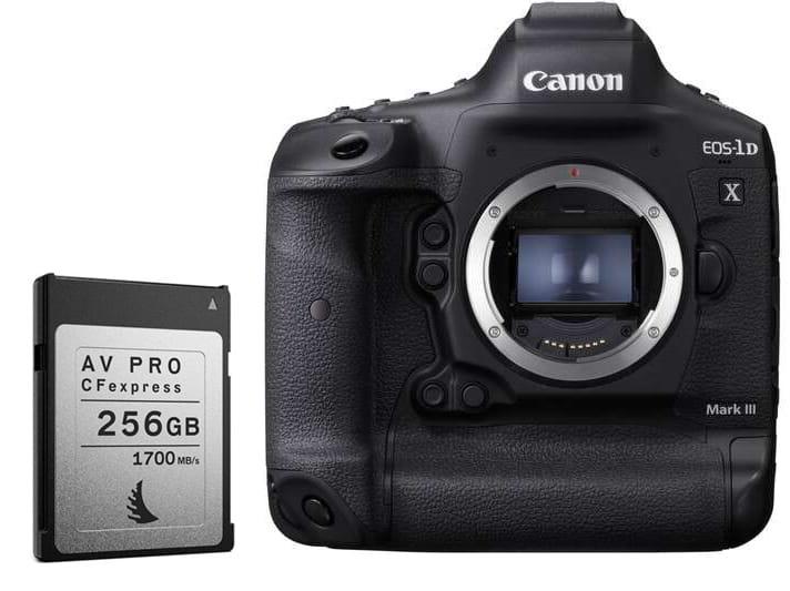 Lustrzanka Canon EOS 1DX Mark III + karta
