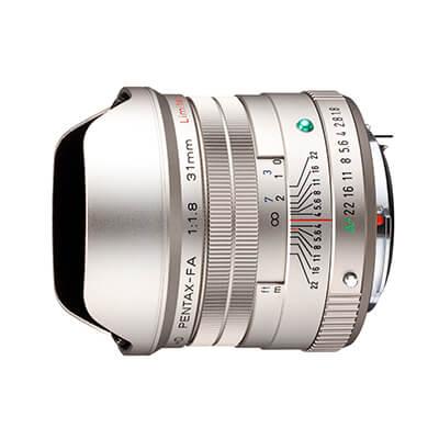 Obiektyw HD PENTAX-FA 31mmF1.8 Limited - Srebrny