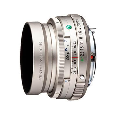 Obiektyw HD PENTAX-FA 43mmF1.9 Limited - Srebrny