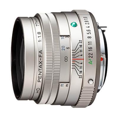 Obiektyw HD PENTAX-FA 77mmF1.8 Limited - Srebrny