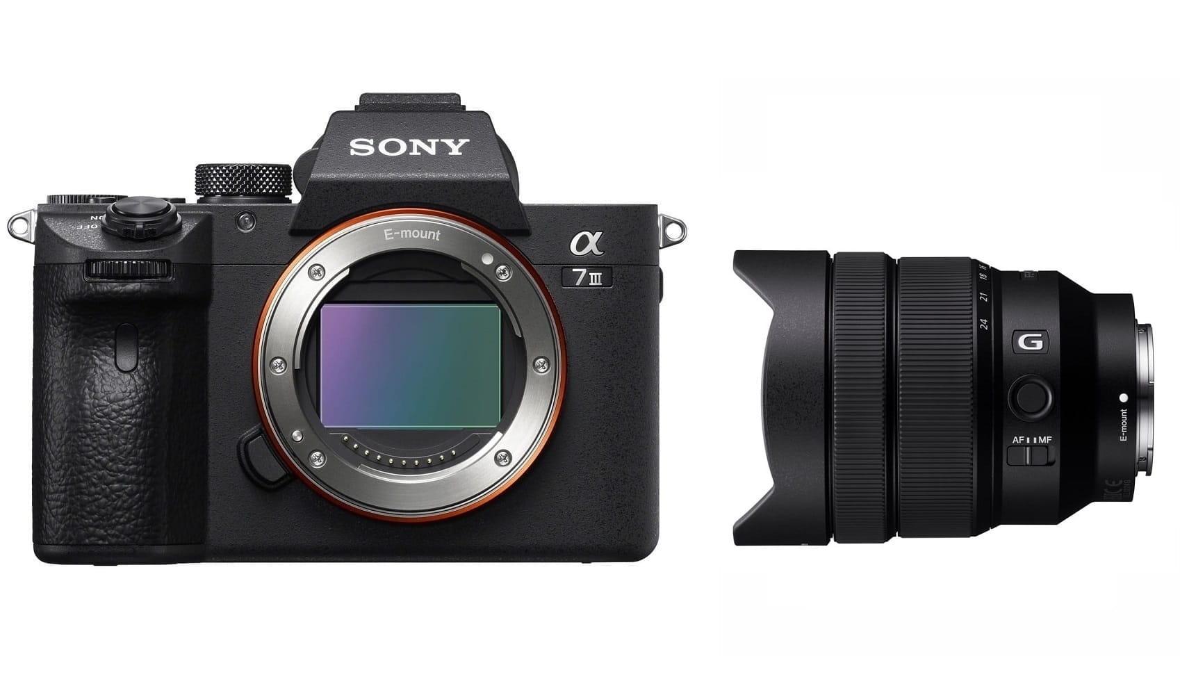Aparat cyfrowy Sony A7 III - ILCE7M3B + obiektyw FE 12-24 mm f/4.0 G - SEL1224G + cashback 900 i 450 zł