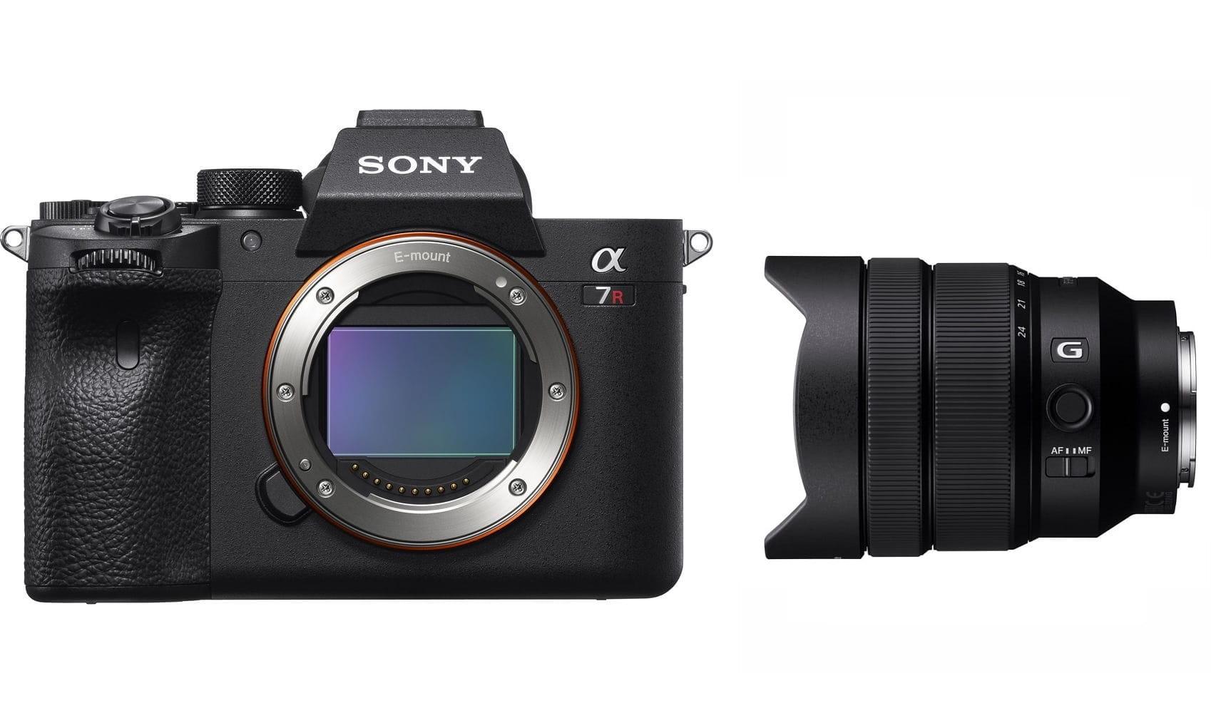 Aparat cyfrowy Sony A7R IVa + obiektyw FE 12-24 mm f/4.0 G - SEL1224G + cashback 1350 i 450 zł